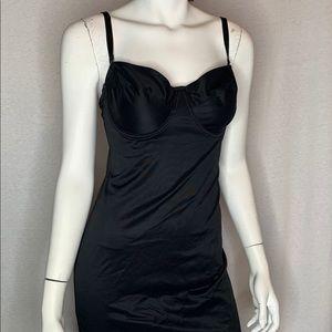 Nancy Ganz Body Slimmers B38 Shapewear Slip Black
